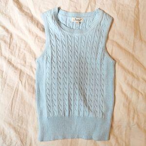 Vintage Baby Blue Sweater vest